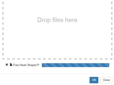 form plugin with file upload drag drop file upload dialog with jquery and bootstrap