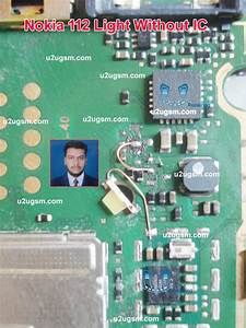 Nokia 112 Light Problem Solution Without Ic 100  Tested