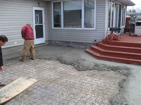 steps to sting concrete patio modern patio outdoor