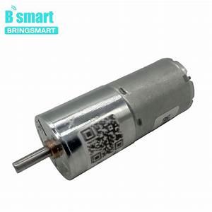 25ga370 Dc 12 Volt Gear Motors 2 5w 24v Micro Gear Motor