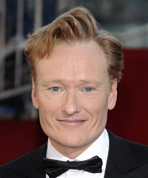 Conan O'Brien Short Wavy Formal Hairstyle