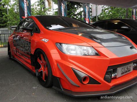 Modifikasi Honda Civic by Modifikasi Honda Civic Racing Banget Nih Bro