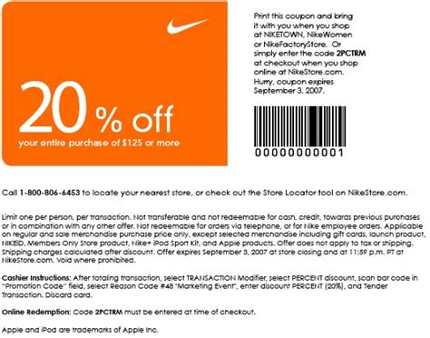 82871 Just Deals Promo Code by Namc Where To Get Nike Coupon Codes