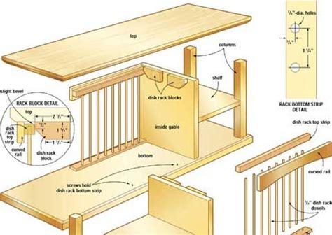 build   plate rack cabinets fiestas  design