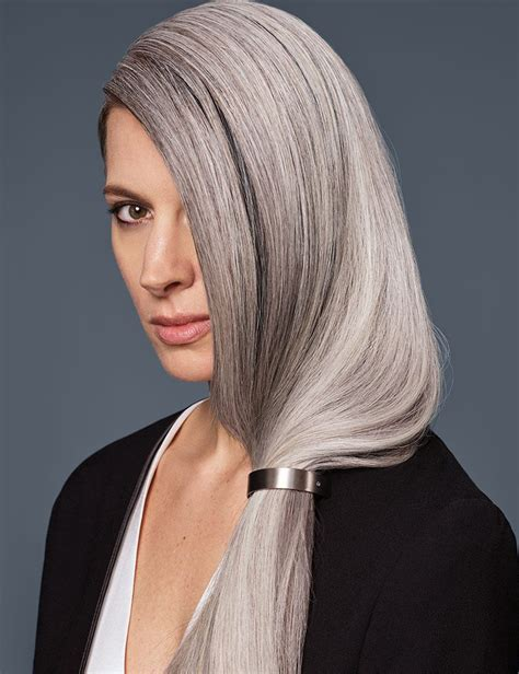 Stay Gray Natural Bright Gray Hair Redken
