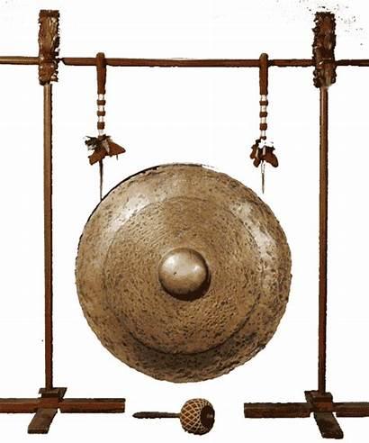 Alat Musik Gambar Tradisional Aramba Dipukul Nias