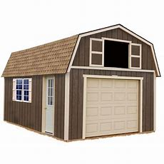 Best Barns Tahoe 12 Ft X 20 Ft Wood Garage Kit Without