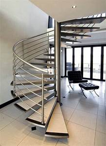China, Modern, Indoor, Design, Spiral, Staircase, With, Stainless, Steel, Stair, Railing