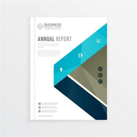 zakelijke identiteit voorblad brochure ontwerp met