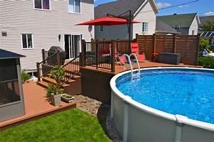 1000 idees sur le theme lame de terrasse composite sur With photo de jardin avec piscine 2 photo gallery de beaux decks de piscine