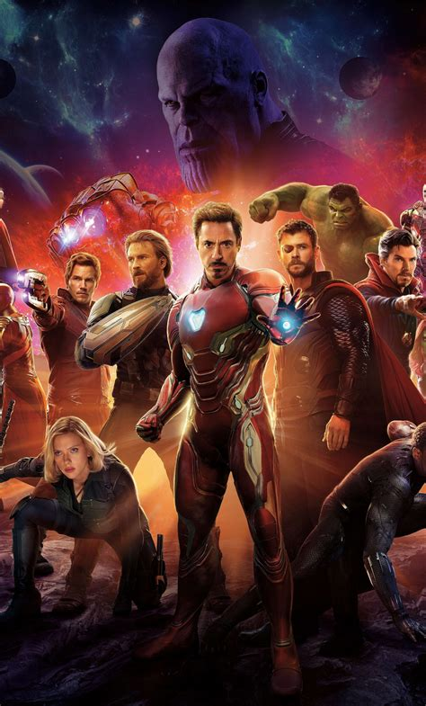Download 1280x2120 Wallpaper Avengers Infinity War