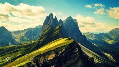 Mountain Nature Landscape Hill Clouds Mountains Desktop