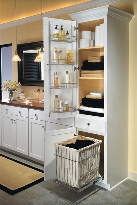 linen closet  removable hamper aristokraft