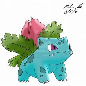 How to draw ivysaur
