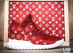 7f4865c41 Supreme Et Louis Vuitton. red cotton louis vuitton x supreme scarf ...