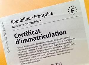 Certificat D Immatriculation Vente : certificat d 39 immatriculation proc dure d mat rialis e vraiment s curis e automotiv press ~ Medecine-chirurgie-esthetiques.com Avis de Voitures