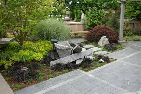 industrial landscaping ideas modern industrial japanese garden industrial landscape portland by barbara hilty