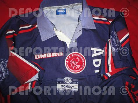 Jersey Ajax 1997-1998 Umbro Visita #16