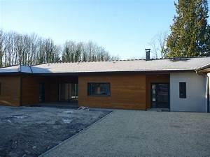 Maison Architecte Plain Pied : maison plain pied d 39 architecte menuiserie evrard ~ Melissatoandfro.com Idées de Décoration
