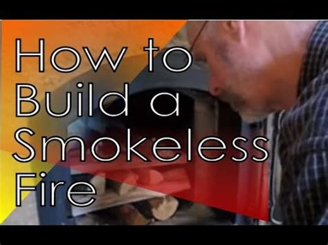 Smokeless Fire How To Easily Build An Upside Down Fire