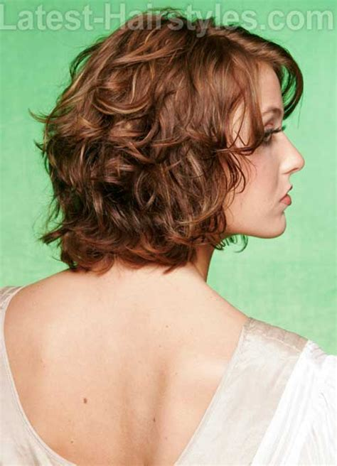 short layered curly hair short hairstyles