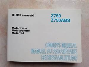 Carnet Entretien Peugeot 2008 : troc echange manuel du propri taire kawasaki z 750 z750 carnet entretien notice r vision sur ~ Gottalentnigeria.com Avis de Voitures
