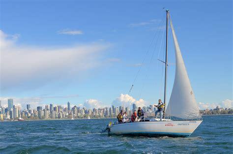 Sailboat Vancouver by Bc Boat Charters Sailing Schools Ahoy British Columbia