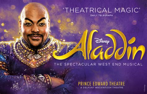 aladdin disneys  musical   prince edward