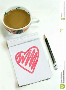Lovely Message Stock Photo - Image: 48639114