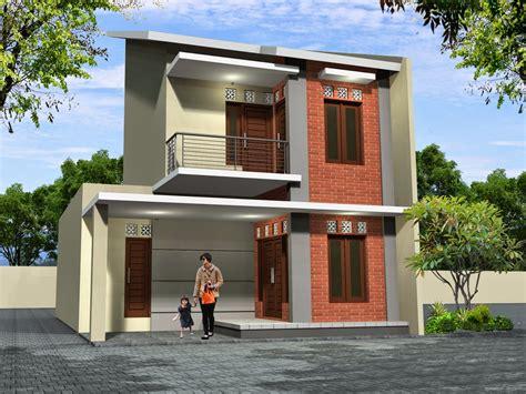 contoh rumah minimalis  lantai ukuran  desain rumah