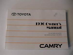 1996 Toyota Camry Owners Manual Book