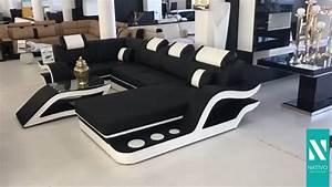 Sofa Mit Led Und Sound : nativo m bel schweiz designer sofa hermes xl mit led beleuchtung youtube ~ Orissabook.com Haus und Dekorationen