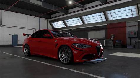 alfa romeo giulietta tuning forza motorsport 7 tuning 2017 alfa romeo giulia quadrifoglio top speed