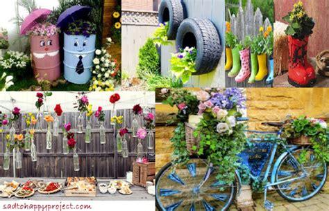 decoration de jardin decorer cest samuser