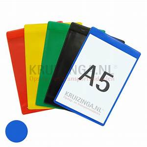 plastic pocket document holder a5 self adhesive portrait With document display pockets