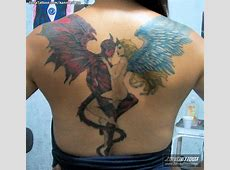 Tattoo Angel Y Demonio Tattoo Art