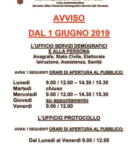 Comune Di Rimini Ufficio Anagrafe by Notizie Dal Comune Comune Di Bardonecchia