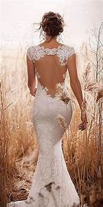 18 sexy and breath taking backless wedding dresses With no back wedding dress