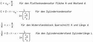 Widerstand Eines Drahtes Berechnen : widerstand eines zylinders herleiten bitte berpr fen ~ Themetempest.com Abrechnung
