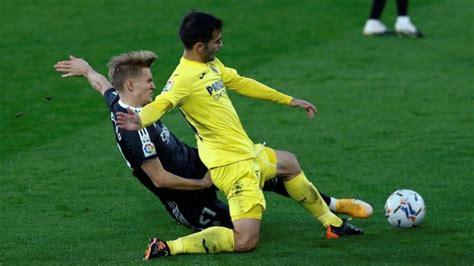 Real Madrid dejó escapar la victoria ante Villarreal ...