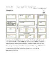 following directions elementary worksheets new calendar