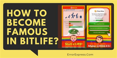 bitlife simulator become famous game min leave