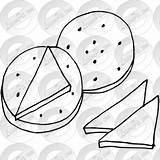 Cheese Outline Clipart Crackers Transparent Webstockreview Classroom sketch template