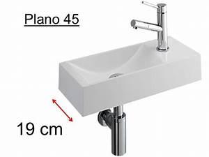 Lavabo Rectangulaire étroit : meubles lave mains robinetteries lave mains lave mains ~ Edinachiropracticcenter.com Idées de Décoration