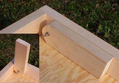 cornhole board legs diy general pinterest corn hole