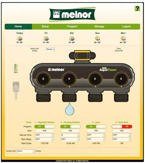 hose faucet timer wifi and set schedules for your garden hoses from your