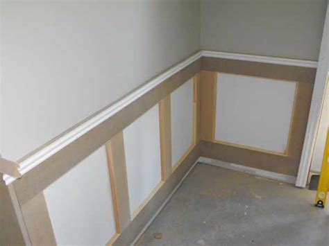 wainscoting   basement part  woodchuckcanuckcom