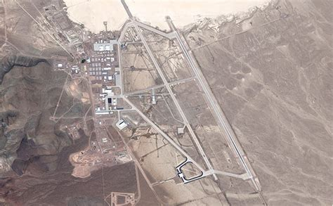VIDEO Area 51 UFO guards point guns at bikers who found ...