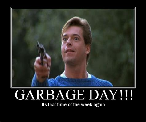 Garbage Day Meme - garbage day occupy wall street no sign of the tea party j m bell s the left show