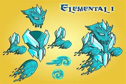 Elemental Character Sprites Fantasy 2d Sprite Io